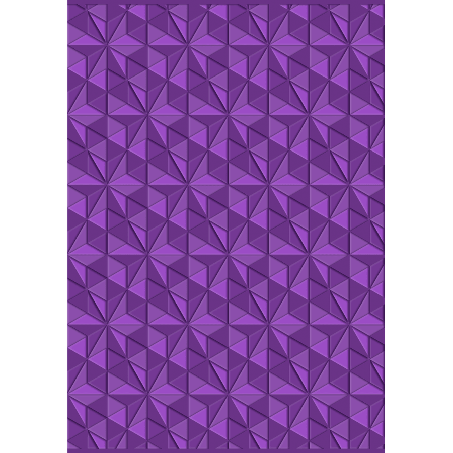Gemini - 3D Embossing Folder - Geometric Triangles