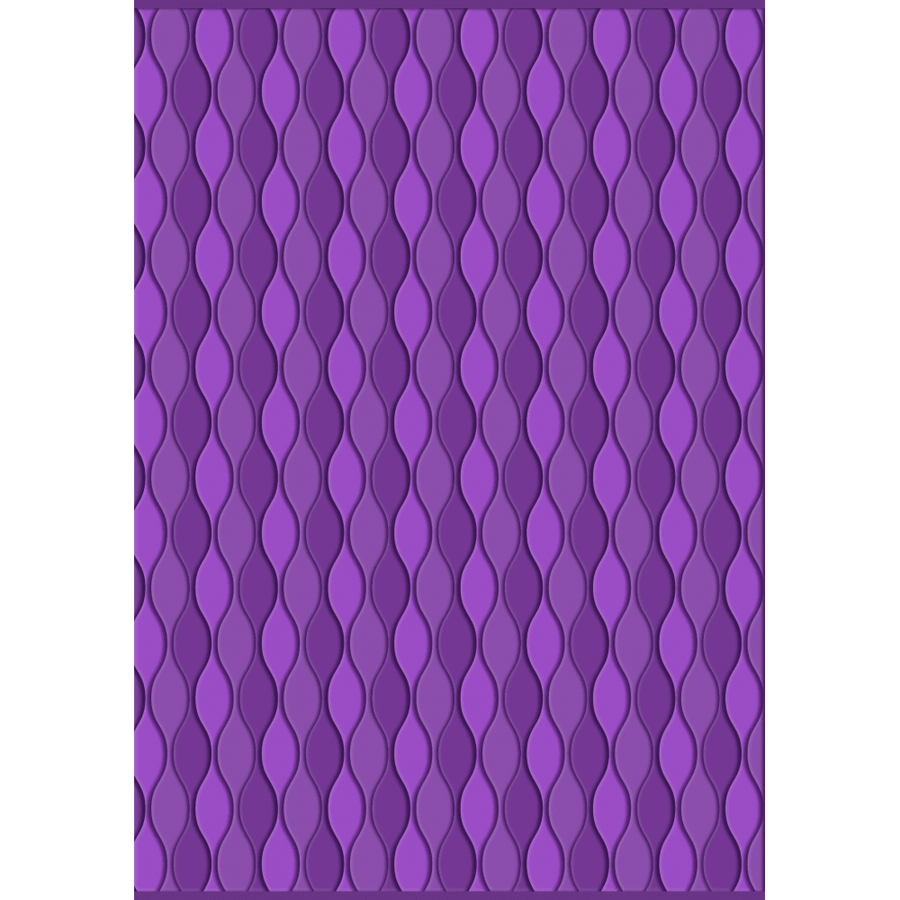 Gemini - 3D Embossing Folder - Seamless Wave