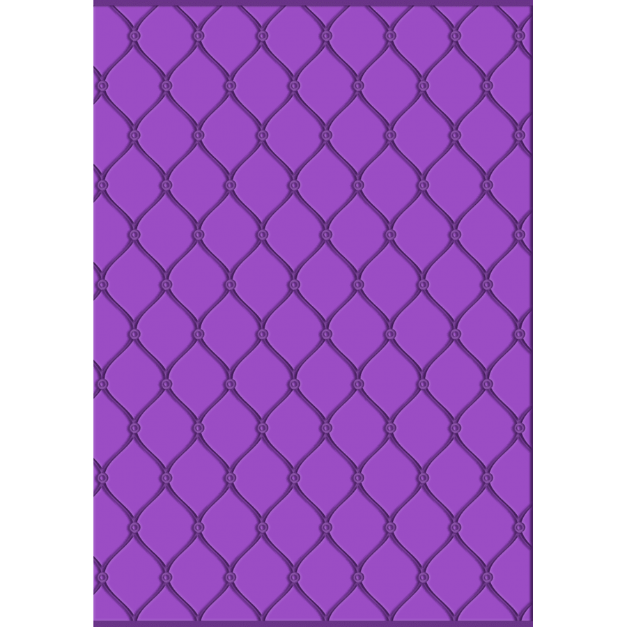 Gemini - 3D Embossing Folder - Studded Leather