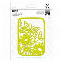 X-Cut Dies: Dies - Wildflower Butterfly (XCU 504083)
