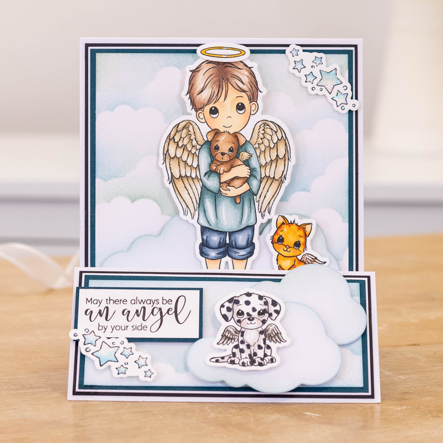 Conie Fong Stamp - Angel Inspiration - Friendship Angel