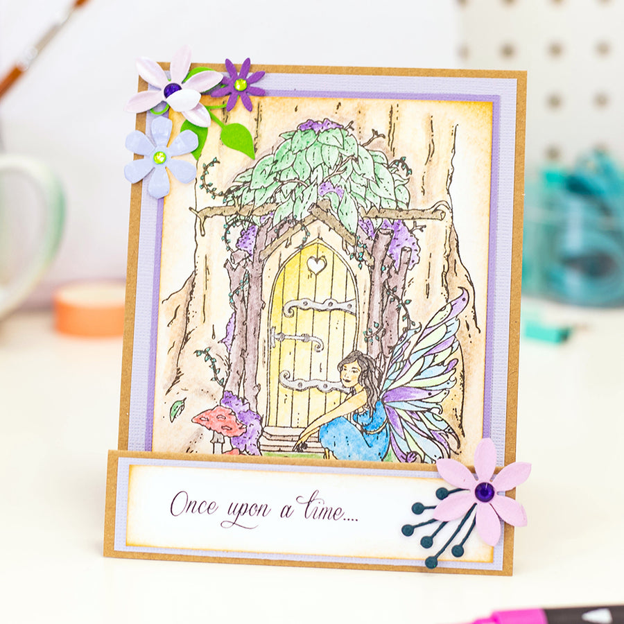 Crafters Companion Stamp - Once Upon a Time