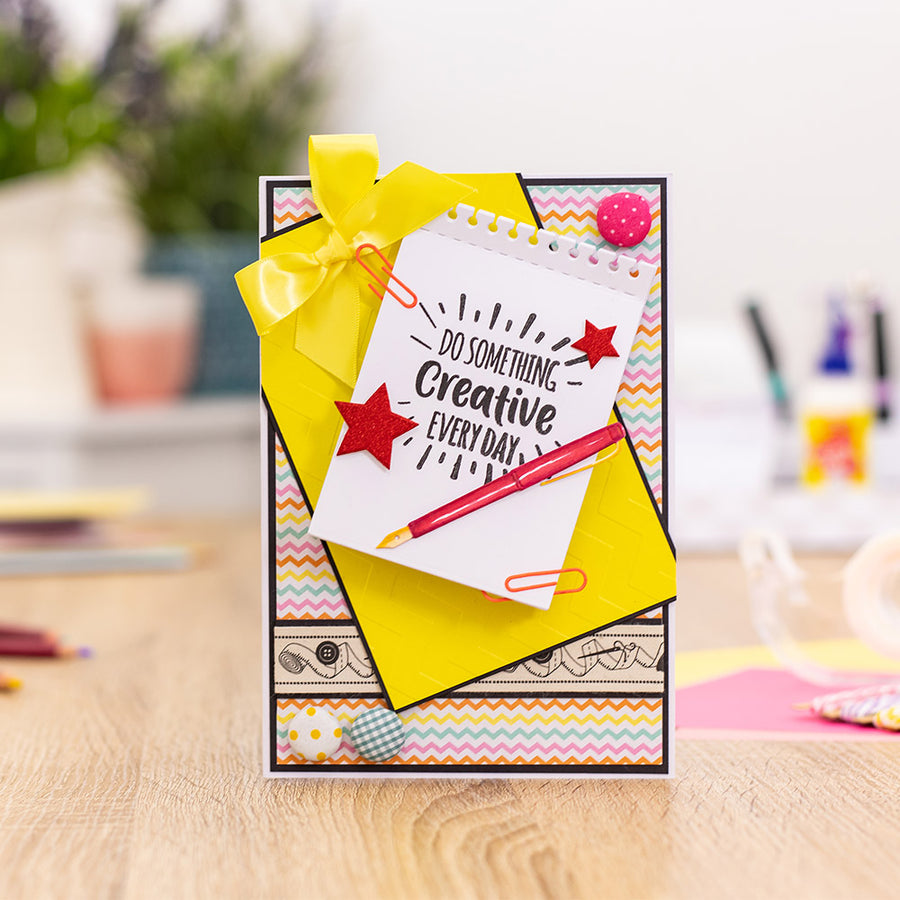 Sara Signature Collection by Crafters Companion - Crafty Fun - Metal Die - Stylish Stationery