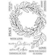 Memory Box Stamp Set - Berry Wreath - CL5260