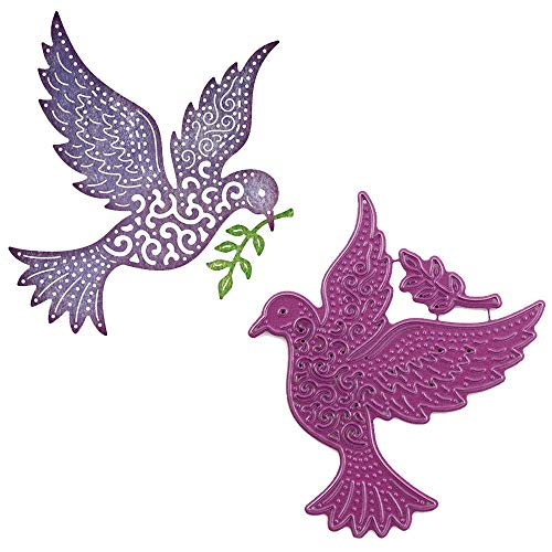 Cheery Lynn Designs Doily Dies - Peace Dove (B605)