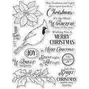 Memory Box Stamp Set - Spirit of Christmas - CL5261