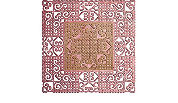 Cheery Lynn Designs Dies - Lords And Commons Square Doily - DL317