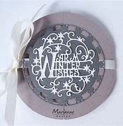 Marianne Creatables Die - Anjas Warm Winter Wishes - LR0620