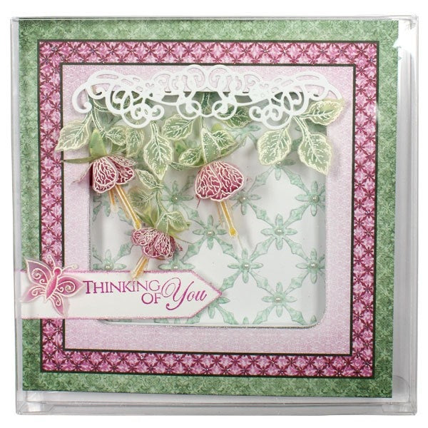 "Heartfelt Creations Clear Boxes - 10 Pack - 6 1/8"" x 6 1/16"" - FP13"