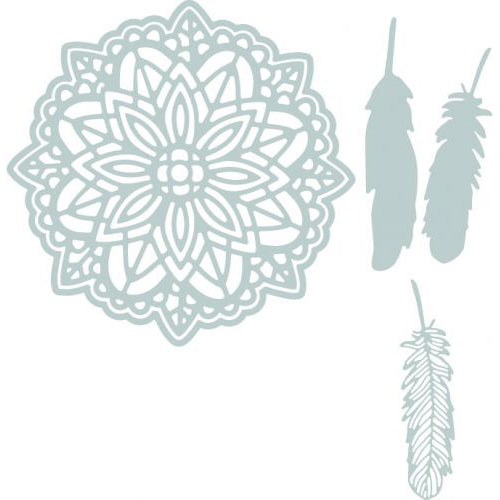 Sizzix Dies - Thinlits - Large Dream Catcher by Sophie Guilar - 662548