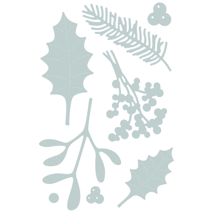 Sizzix Dies - Thinlets - Winter Foliage
