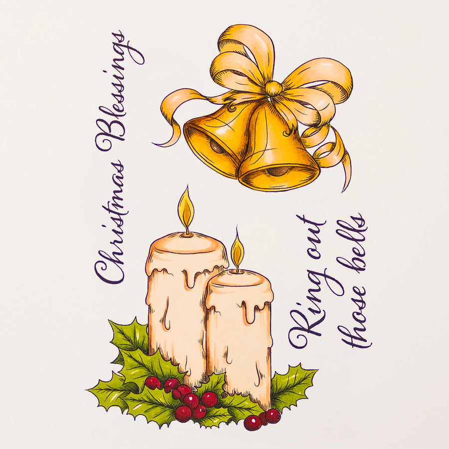 Crafters Companion Stamp - Christmas Blessings