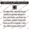 Visible Image Stamp - Runic Background Set