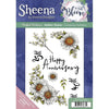 Sheena Douglass - In Full Bloom - A5 Rubber Stamp - Gorgeous Gerbera