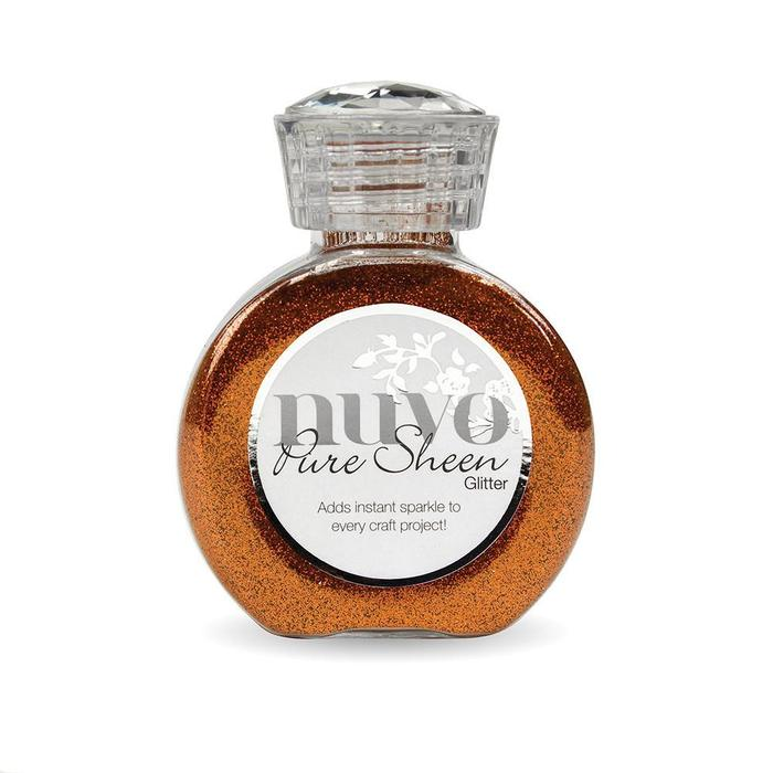 Tonic Studios Nuvo Pure Sheen Glitter - Spiced Apricot