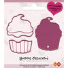Yvonne Creations Die - Love - Cupcake