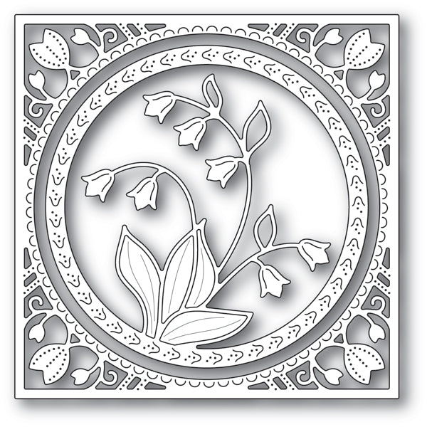 Memory Box Die - Lily of the Valley Frame - 94215