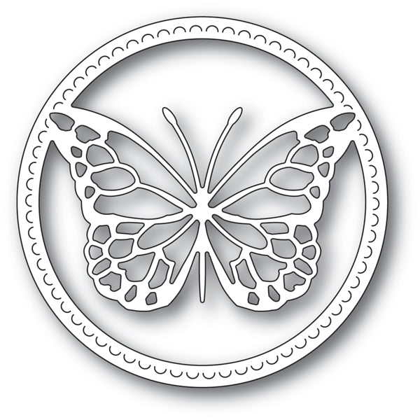 Memory Box Die - Delicate Butterfly - 94220