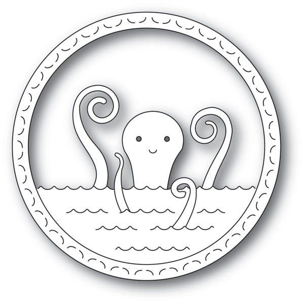Memory Box Die - Happy Octopus - 94227