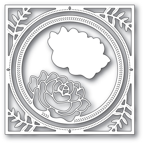 Memory Box Die - Splendid Rose Frame - 94229