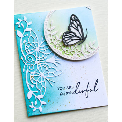 Memory Box Die - Sofia Butterfly Border - 94413