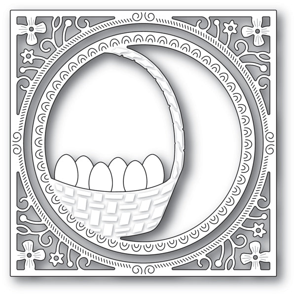 Memory Box Die - Egg Basket Frame - 94235