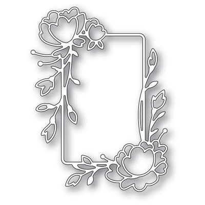 Memory Box Dies - Rose Flower Frame - 94247