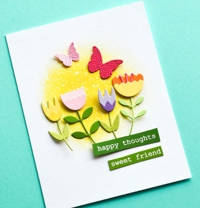 Memory Box Dies - Layered Tulip - 94253