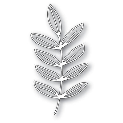 Memory Box Dies - Scribble Frond Outline - 94272