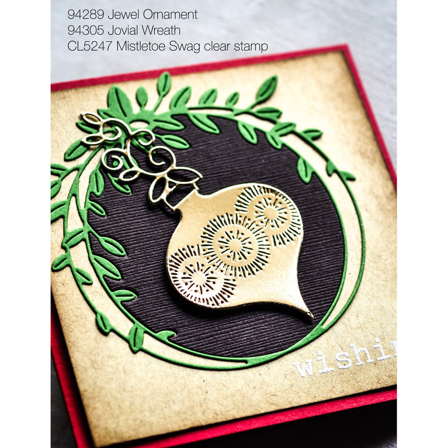Memory Box Die - Jovial Wreath - 94305