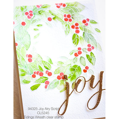 Memory Box Die - Joy Airy Script - 94325