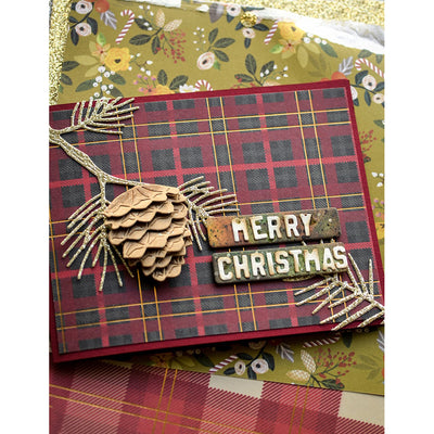 Memory Box Die - Pointy Pine Needle Sprigs - 94487