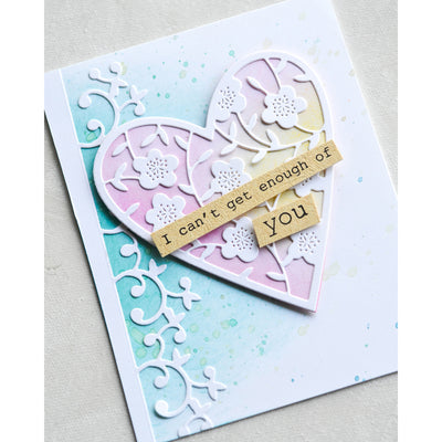Memory Box - Big and Little Valentines Stamp Set - CL5252