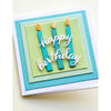 Memory Box Die - Arched Happy Birthday - 94437