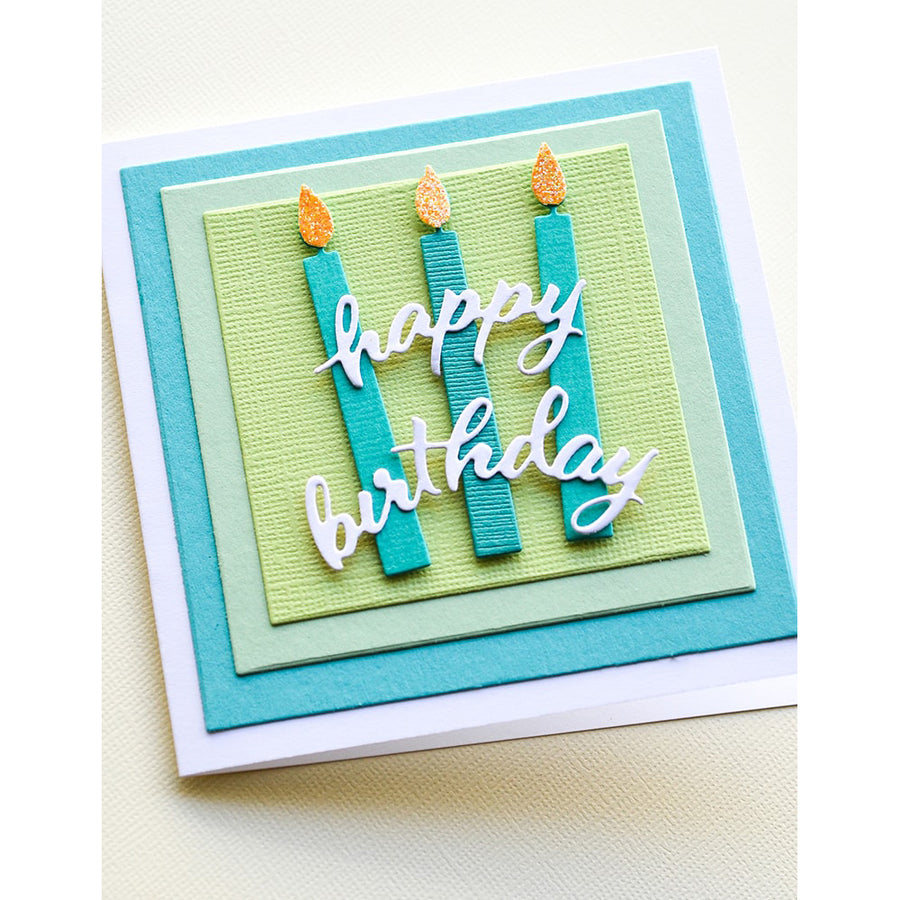 Memory Box Die - Tall Birthday Candles - 94395