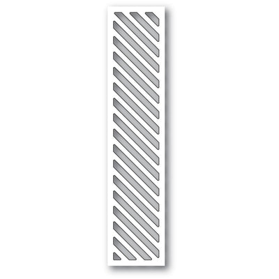 Memory Box Die - Diagonal Stripe Collage - 94401
