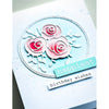 Memory Box Die - Scribble Rose Trio and Background - 94436