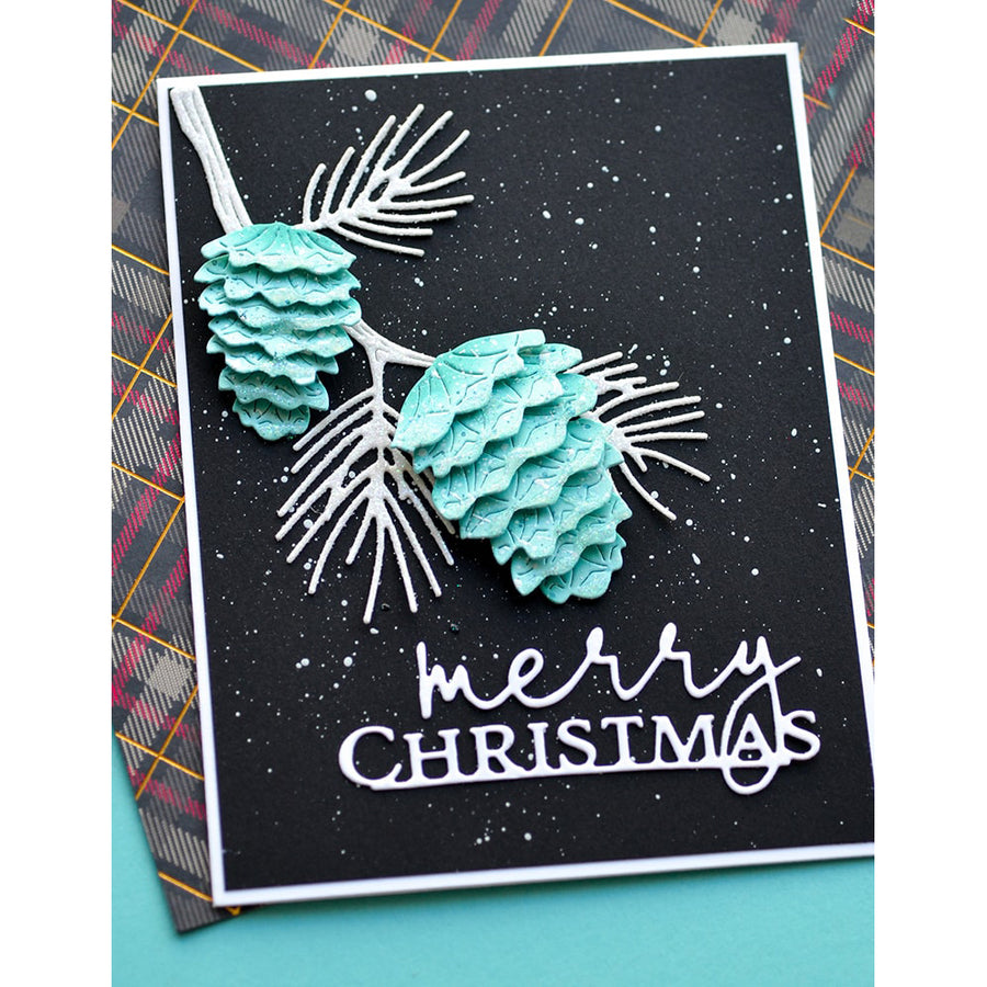 Memory Box Die - Special Merry Christmas  - 94499