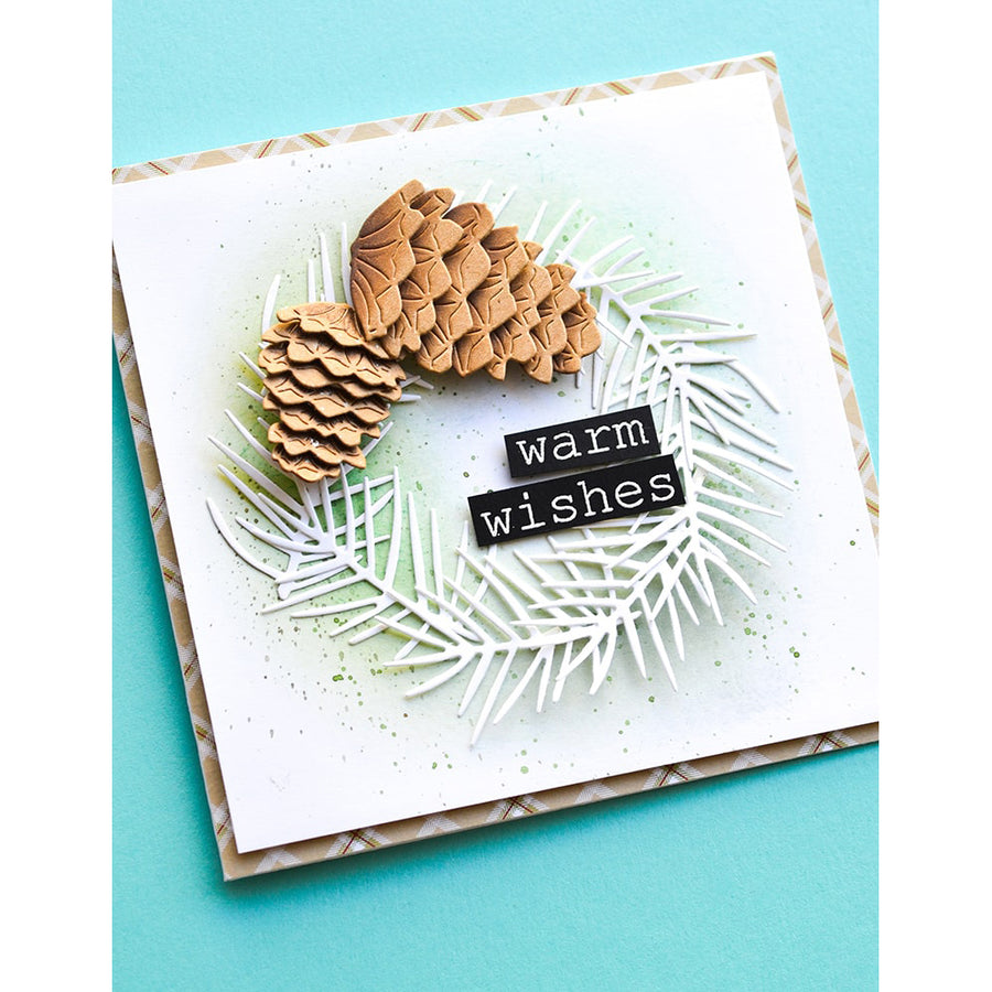 Memory Box Die - Pinecone Stackers - 94486
