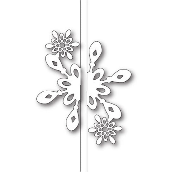 Memory Box Die - Bright Snowflake Closer - 99586