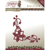 Amy Design Cutting Die Christmas Greetings - Poinsettia Corner