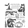 Stampers Anonymous Cling Mount Stamps - Snarky Cats Halloween - AGCMS407
