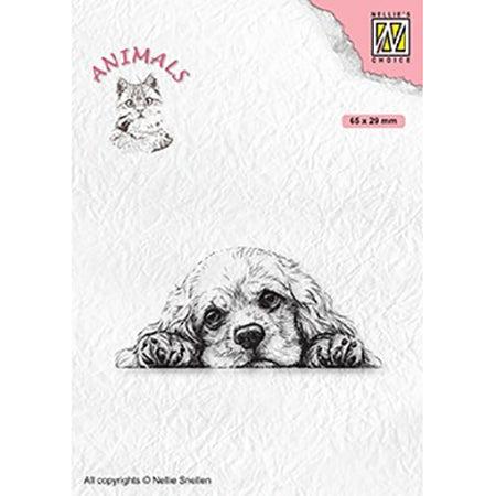 Nellie Snellen Clear Stamp - Animals - Spaniel