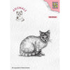 Nellie Snellen Clear Stamp - Animals - Cat