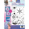 Angela Poole A4 Photopolymer Stamp Set - Florals & Flurries