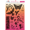 Angela Poole A5 Photopolymer Stamp Set - Flutterings A5