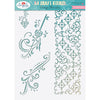 Angela Poole - Craft Stencil Vintage Flourishes A4