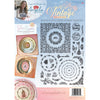 Angela Poole A4 Photopolymer Stamp Set - Vintage Treasures