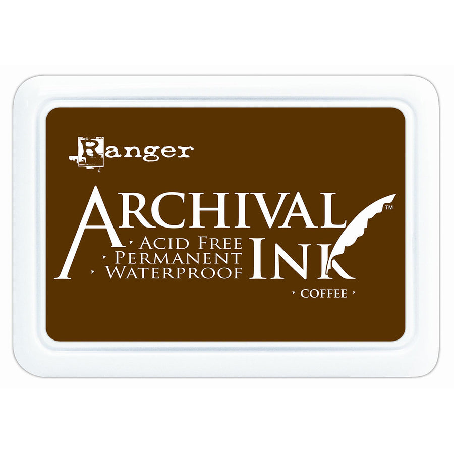 Ranger Archival Ink Pad - Coffee