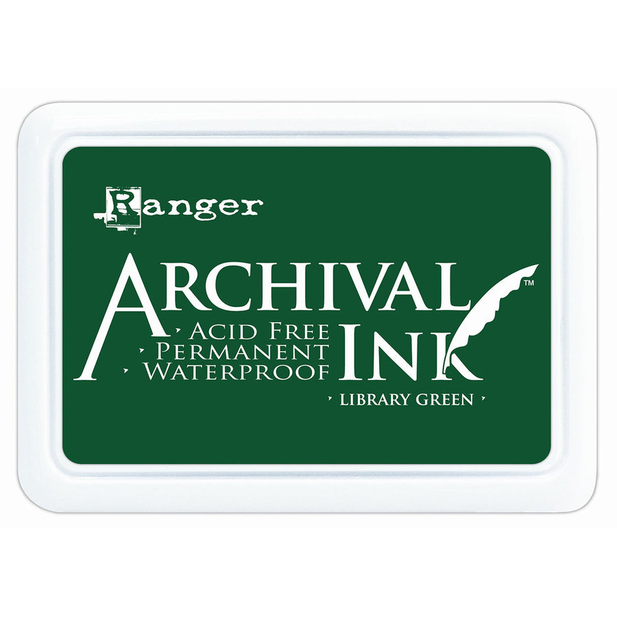 Ranger Archival Ink Pad - Library Green